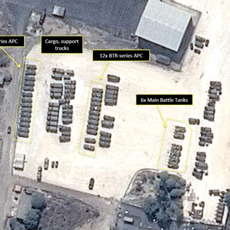 al-Assad International Airport, Syria - September 15, 2015 -Satellite Image: GeoNorth - PLEIADES © CNES, Distribution Airbus DS/Spot Image